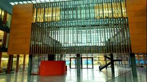 Foyer Richtung Eingang