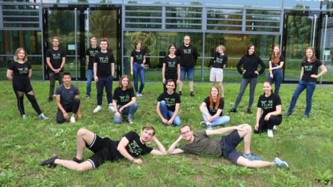 Mitglieder des Fachschaftsrates Biologie