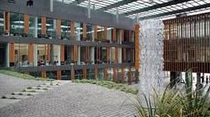 Neubau Bio Glassäule