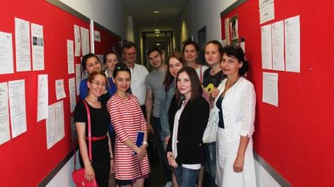 Gastwissenschaflterinnen aus Russland