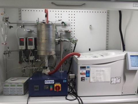 Reaktion von Methanol zu Olefinen mit Säurekatalysatoren
