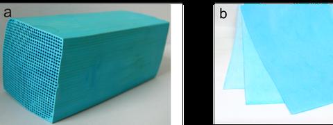 Poroese-Filtermaterialien