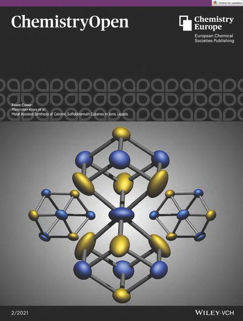 Cover Picture: Ionic liquid-mediated low-temperature formation of hexagonal titanium-oxyhydroxyfluoride particles