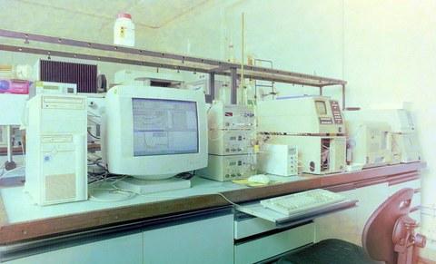 Alte Chromatographen