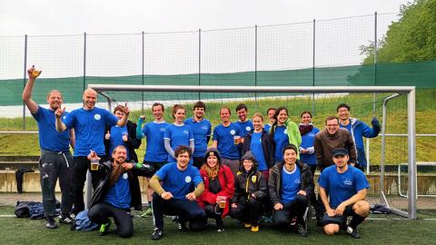 Fußball Turnier 2019 - unsere Mannschaft