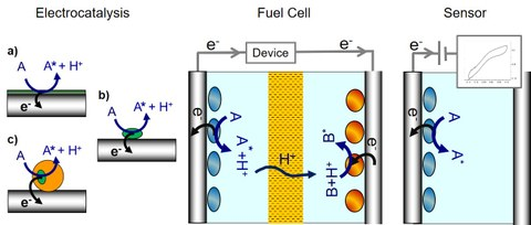 Example of an electrochemical cell