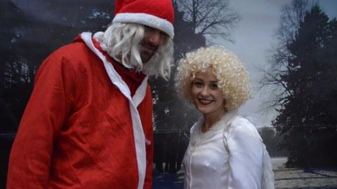 Weihnachtsmann & Christkind