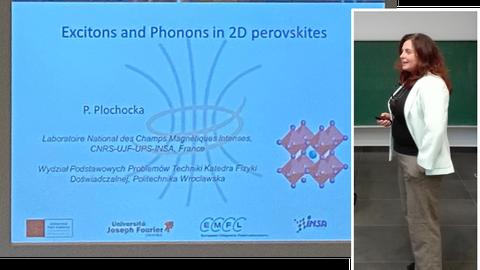 Guest Lecture Prof. Dr. Paulina Plochocka