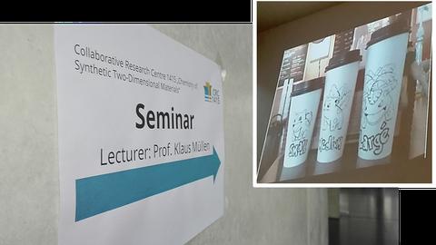 Guest Lecture Prof. Müllen