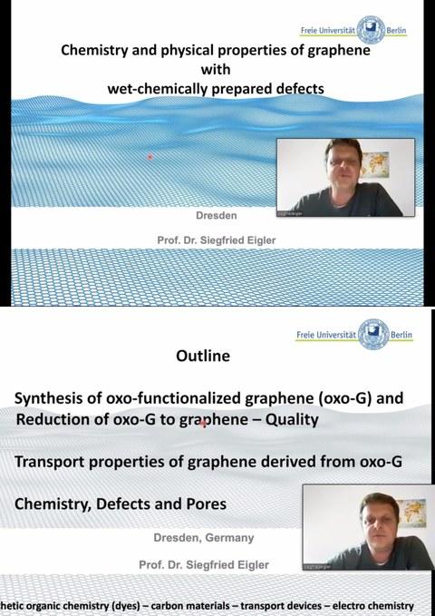 Guest Lecture Prof. Siegfried Eigler
