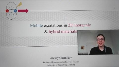 Guestlecture Dr. Alexey Chernikov