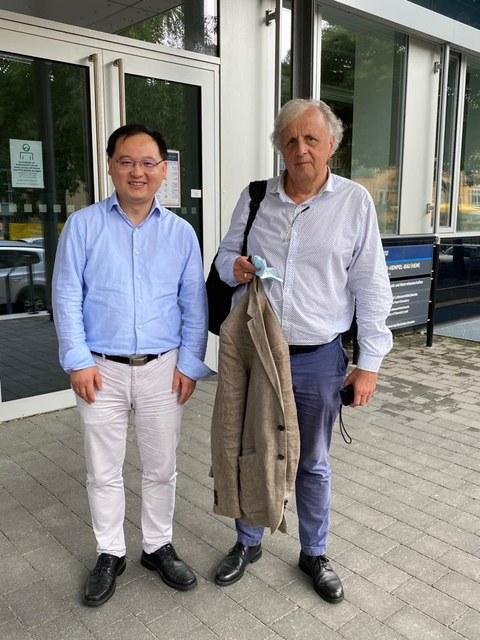 CRC 1415 Visit Prof. Schlüter