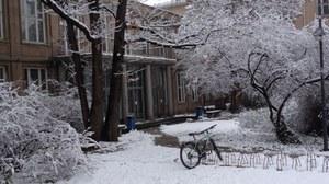 Institut im Winter