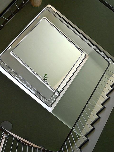 Ansicht des Treppenhauses im Willersbau