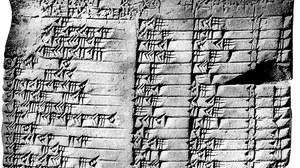 Plimpton-322: Aufzeichnung pythagoreischer Tripel im alten Babylon