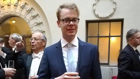 Victor Lagerqvist - Preisträger des Nachwuchspreises der Ruth und Nils-Erik Stenbäck Stiftung