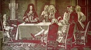 Leibniz erklärt seine Rechenmaschine