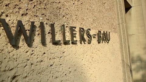 Schriftzug Willers-Bau