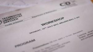 Workshop program