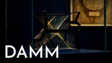 Standbild aus dem Feature-clip zur DAMM Website