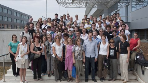The participants of the GEFFA Summer School 2012
