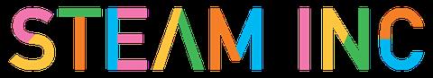 STEAM INC Logo long
