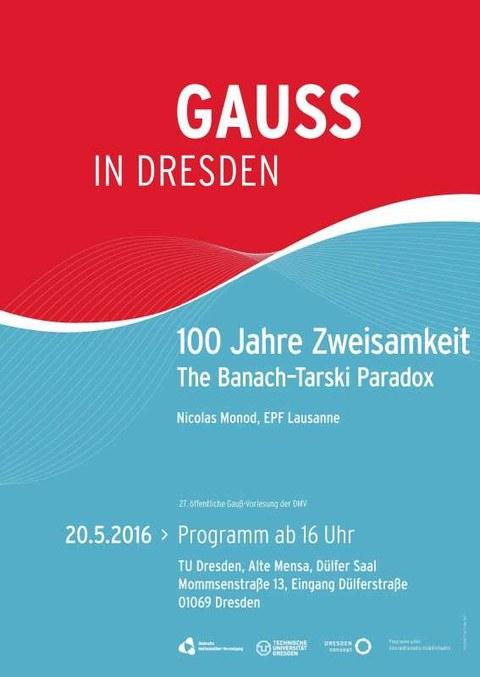 Gauss Plakat
