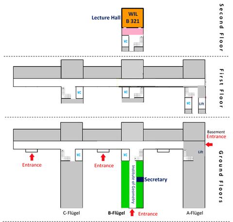 Building Plan:  Willers-Bau