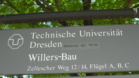 Willersbau, Wegweiser