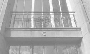 Willersbau C-Eingang, sw