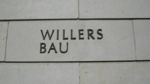 Willersbau-Hausbeschriftung