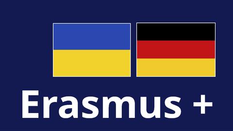 Logo Erasmus+ Ukraine