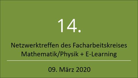 Logo Netzwerktreffen E-Learning