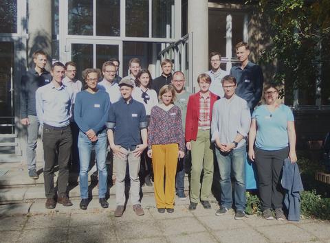 Ein Foto von den Teilnehmern am Workshop on Stochastic Processes and Random Trees vom 2018