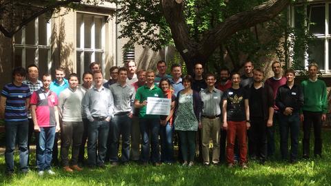 Ein Foto von Teilnehmern einer Tagung