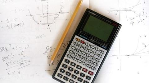 Taschenrechner auf Mathenotizen