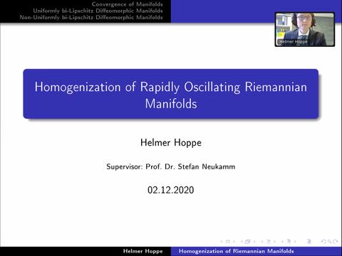Promotionsverteidigung H. Hoppe