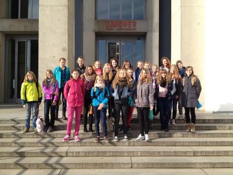 Teilnehmerinen des Mädchencamps 2014
