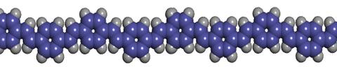 Visualisierung eines Polymers