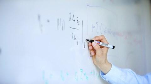 Whiteboard wird beschrieben