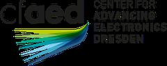 Logo des Center for advanced electronics Dresden