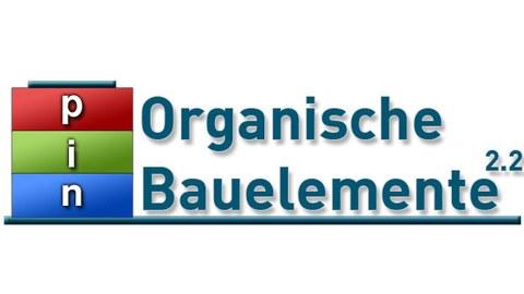"""Logo der NFG """"organische p-i-n-Bauelemente"""""""