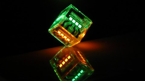 OLED-Würfel