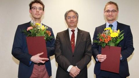 Verleihung von Goldberg- und Dember-Preis 2019