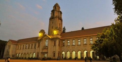 Hauptgebäude des Indian Institute of Science in Bangalore