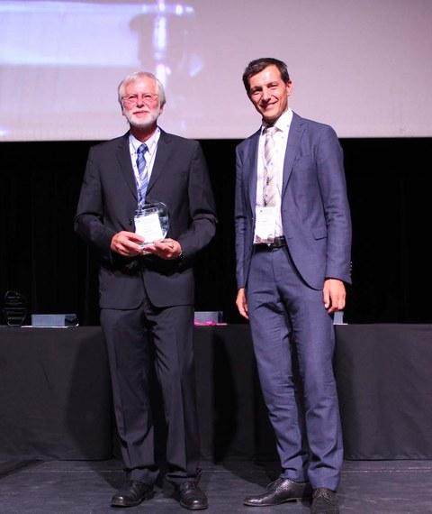 Prof. Werner Skrotzki erhielt den THERMEC' 2018 Distinguished Award