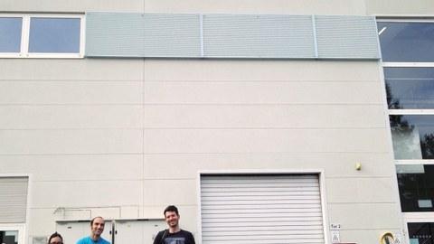 Wissenschaftler vom IKTP zur Strahlzeit am ELBE Beschleuniger