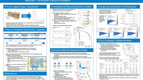 Das Poster mit Forschungsergebnissen von Johann Voigt, das bei der virtuellen Konferenz Offshell 2021 gezeigt wurde.