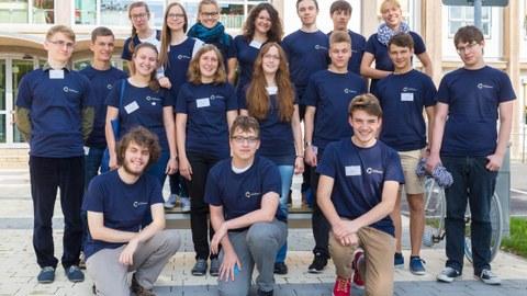 Gruppenbild vom Fellow-Treffen 2016 in Dresden