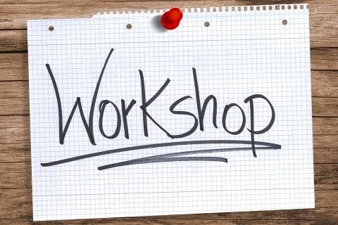 Schriftzug Workshop